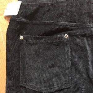 NWT Corduroy stretch pants